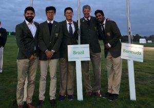 Equipe brasileira no Mundial Amador Por Equipes 2018